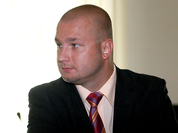 Obžalovaný Petr Panchártek