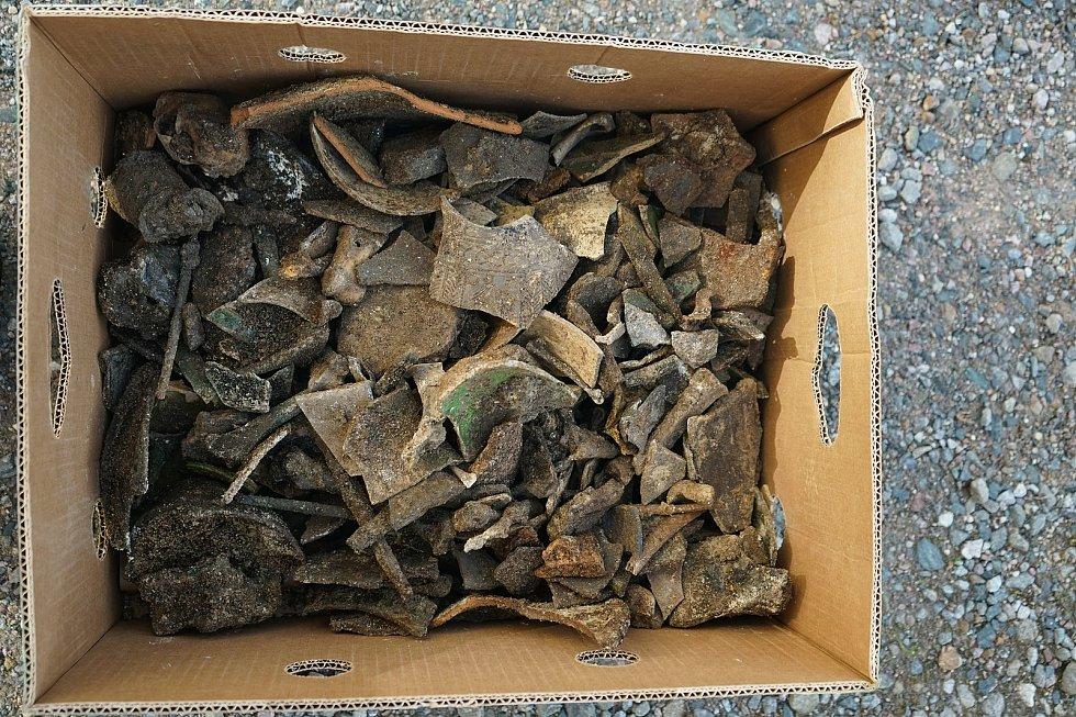Archeologický výzkum na Římském náměstí.