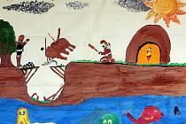 Nejlepší kresby osmnáctého ročníku výtvarné soutěže Dva světy jsou od pondělí vystaveny v knihkupectví Barvič a Novotný v Masarykově ulici v Brně.