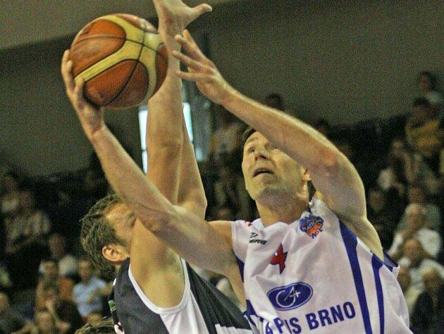 Ze středečního utkání Brno-Děčín