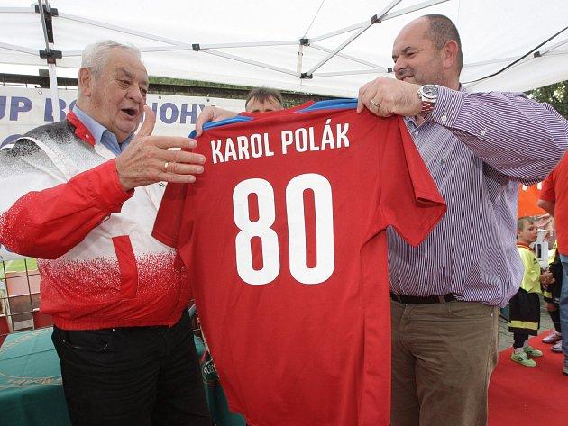 Fotbalista Patrik Holomek se dočkal zápisu v České knize rekordů.