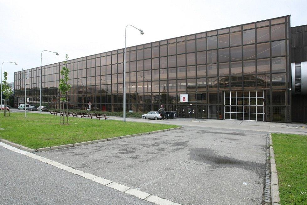 Brněnské výstaviště. Na snímku pavilon B
