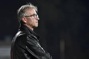 Brno 18.10.2019 - domácí FC Zbrojovka Brno (trenér Miloslav Machálek) proti FK Varnsdorf