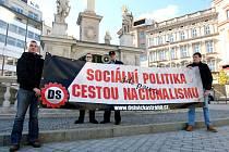 V Brně se sešli příznivci Dělnické strany