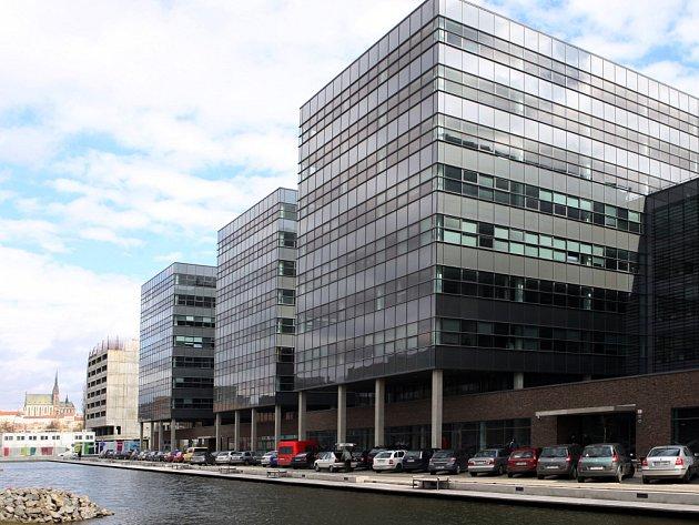 Budovy Spielberk Office Centre.