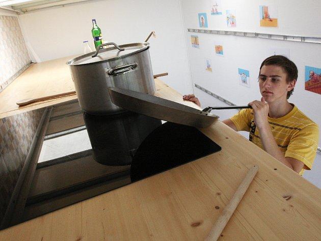 Putovní model Obří kuchyně.