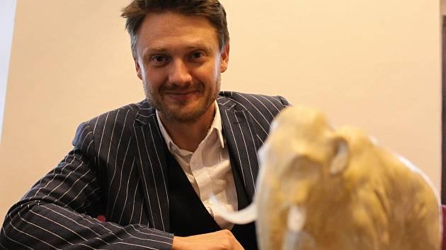 Ředitel Regionálního muzea v Mikulově Petr Kubín.