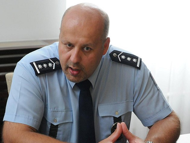 Náměstek šéfa jihomoravské policie Petr Lessy.