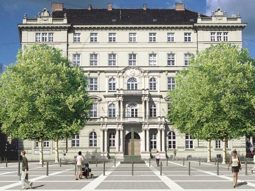 Vizualizace - Moravské náměstí