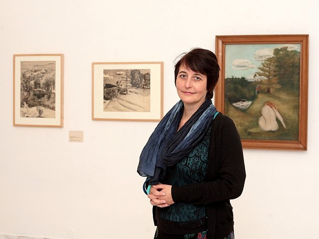 Kurátorka Anna Pravdová.