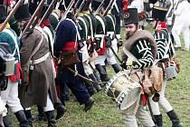 Sobotní bitva francouzského císaře Napoleona s rakouskými a ruskými vojsky u Slavkova.