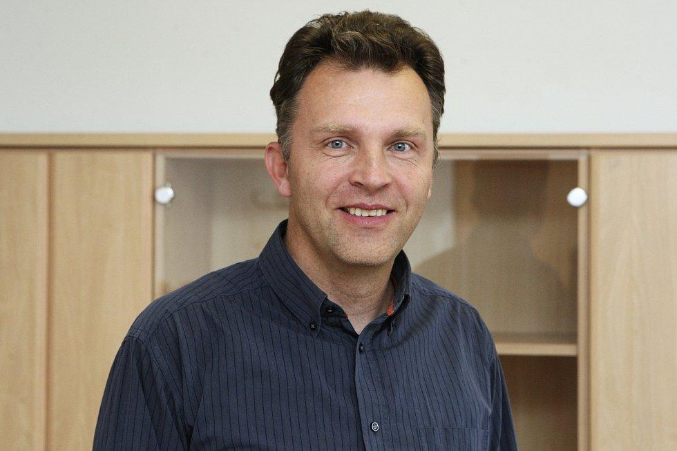 Nový vedoucí odboru dopravy brněnského magistrátu Martin Račanský.