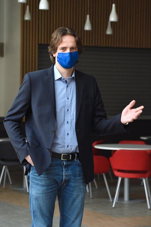 Prorektor a ekonom Masarykovy univerzity Vladimír Žítek
