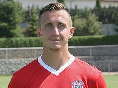 Fotbalový záložník Damián Bariš.