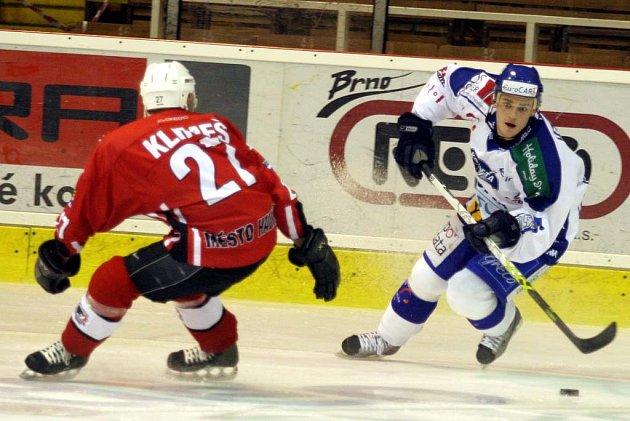Hokejisté Komety se dočkali prvního vítězství. Havířov porazili po samostatných nájezdech.