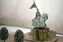 Návrhy na sochu Jošta.