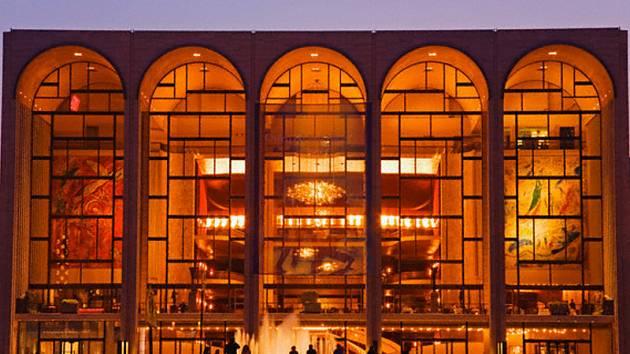 Metropolitní opera v New Yorku.