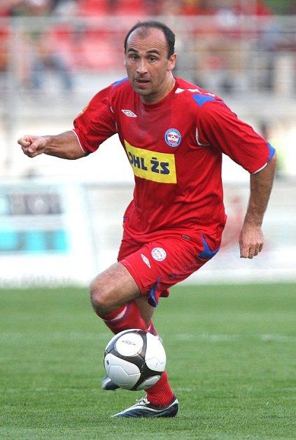 Špílmachr 1. FC Brno Tomáš Polách.