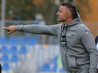Trenér Zbrojovky Brno Pavel Šustr.