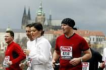 Pražský půlmaraton - ilustrační foto.