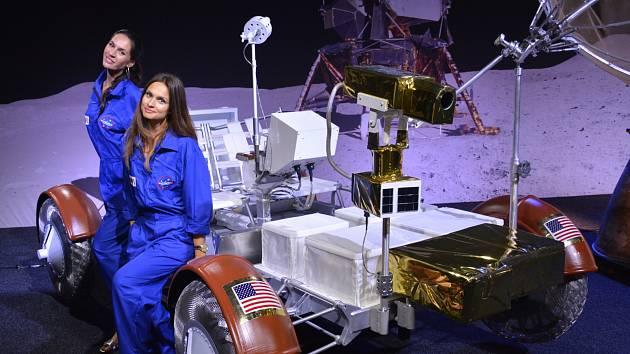 Výstava Cosmos Discovery.