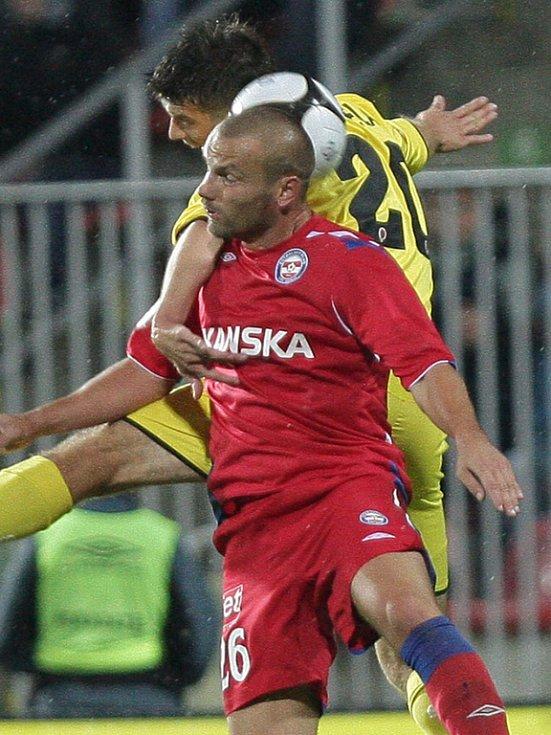 Tomáš Došek 1. FC Brno versus Ondřej Kúdela AC Sparta Praha.