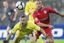 Tomáš Řepka AC Sparta Praha versus Tomáš Došek 1. FC Brno.