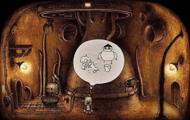 Už přes deset let má adventura Machinarium patřící do kategorie logických dobrodružných. Hráč pomáhá rezavému robotu Josefovi najít cestu zpět ze skládky.
