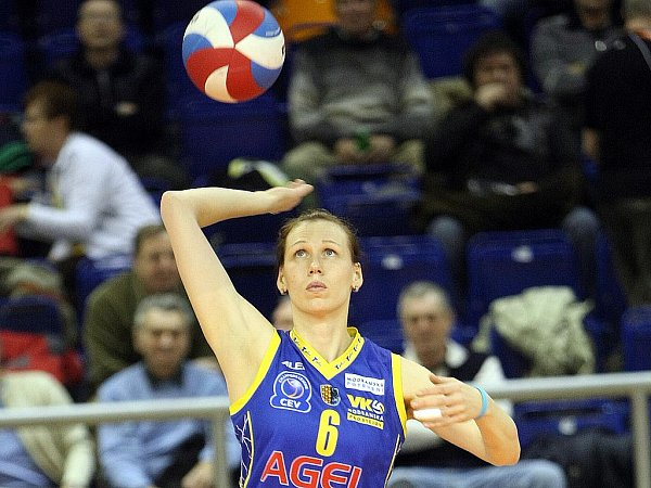 Volejbalistka Soňa Nováková.
