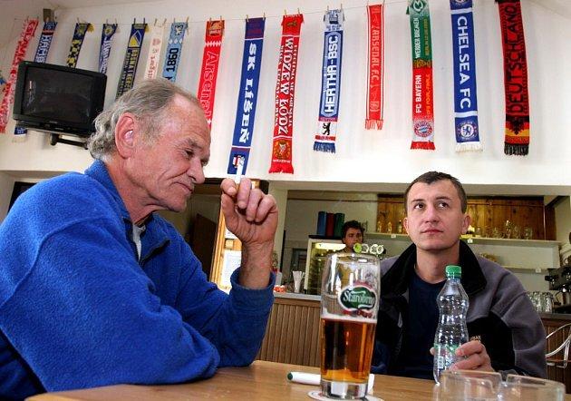 """,,Když sem přijede z Prahy béčko, dostaneme pět gólů a my dáme akorát jeden,"""" tipuje Zlínek."""