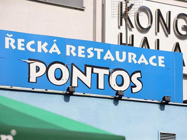Řecká restaurace Pontos.
