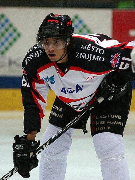 Hokejista Jakub Svoboda.