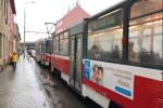 V Brně ráno kolabovala doprava