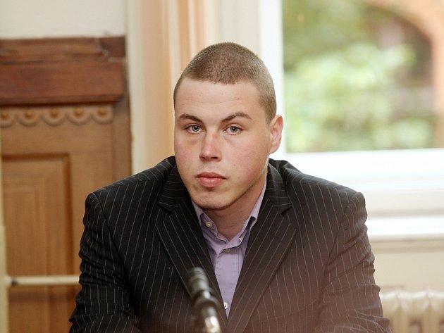 Filip Kunc u soudu.