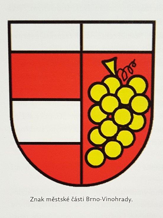 Znak městské části Brno-Vinohrady