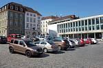 25.3.2020 - parkování na Zelném trhu