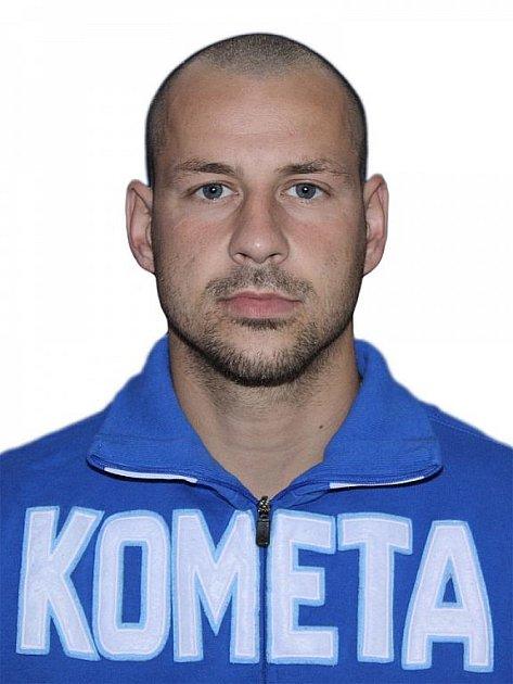 Hokejista Komety Brno Kamil Brabenec.