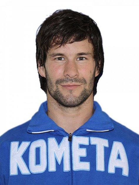 Hokejista Komety Brno Radek Dlouhý.