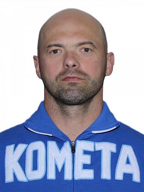 Hokejista Komety Brno Jiří Dopita.