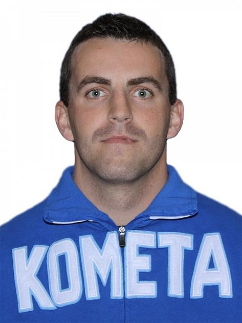 Hokejista Komety Brno Tomáš Houdek.