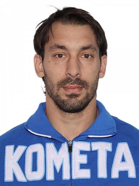 Hokejista Komety Brno Robert Kántor.
