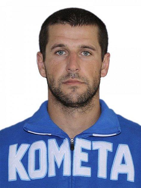Hokejista Komety Brno Tomáš Klimt.
