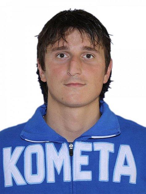 Hokejista Komety Brno Václav Meidl.