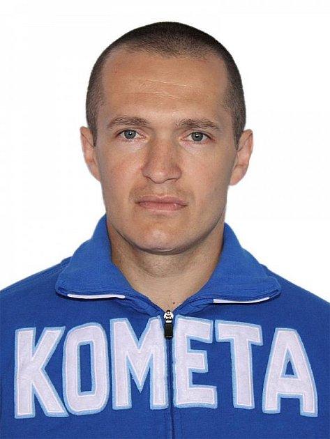 Hokejista Komety Brno Pavel Mojžíš.