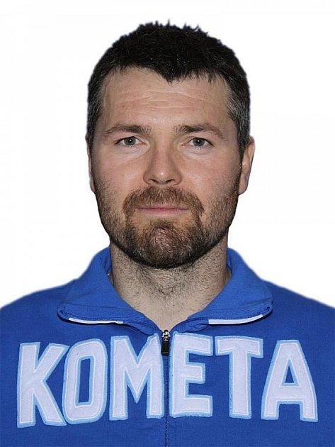 Hokejista Komety Brno Peter Pucher.