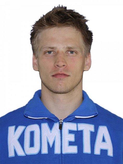 Hokejista Komety Brno Pavel Selingr.