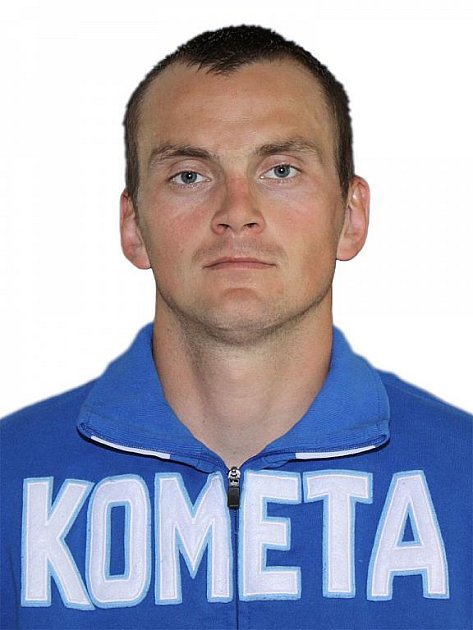 Hokejista Komety Brno Jaroslav Svoboda.