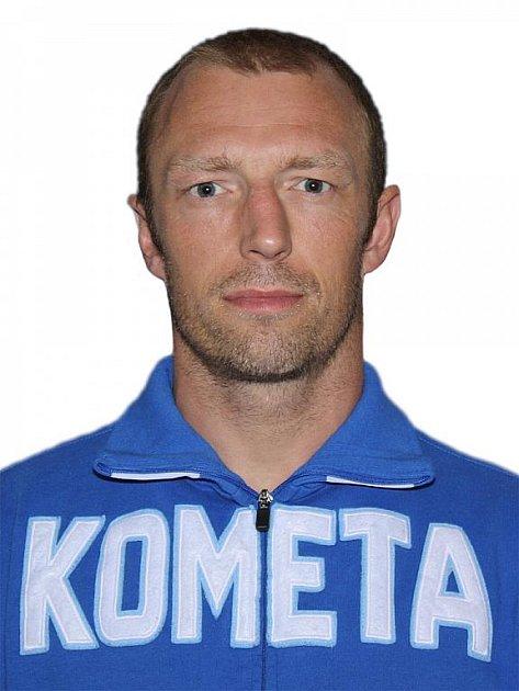 Hokejista Komety Brno Pavel Zubíček.
