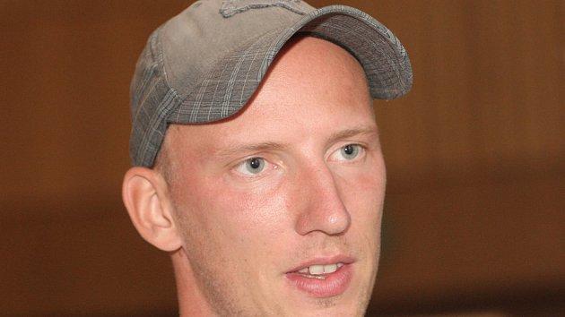 Český sprinter Petr Svoboda.
