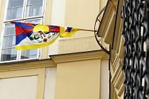 Vlajka pro Tibet.